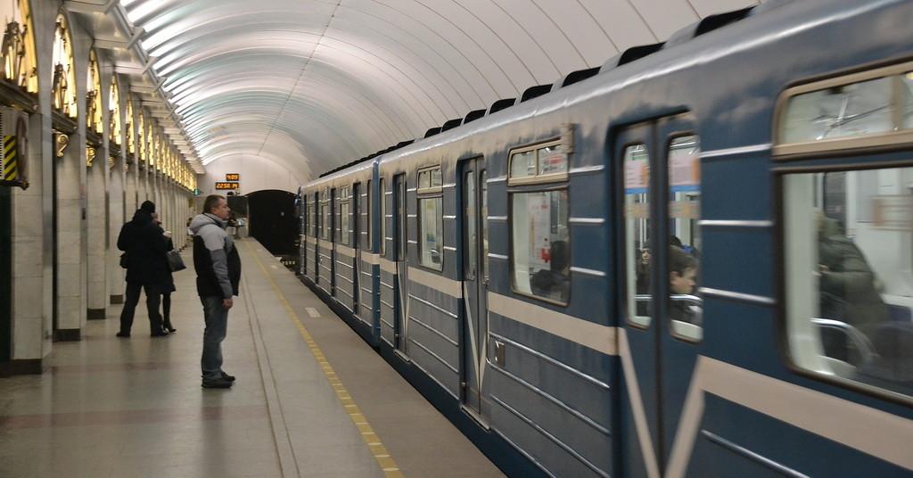 St  Petersburg's subway system