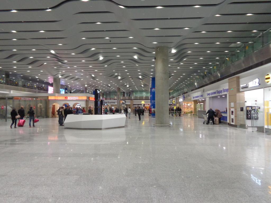Pulkovo airport interior