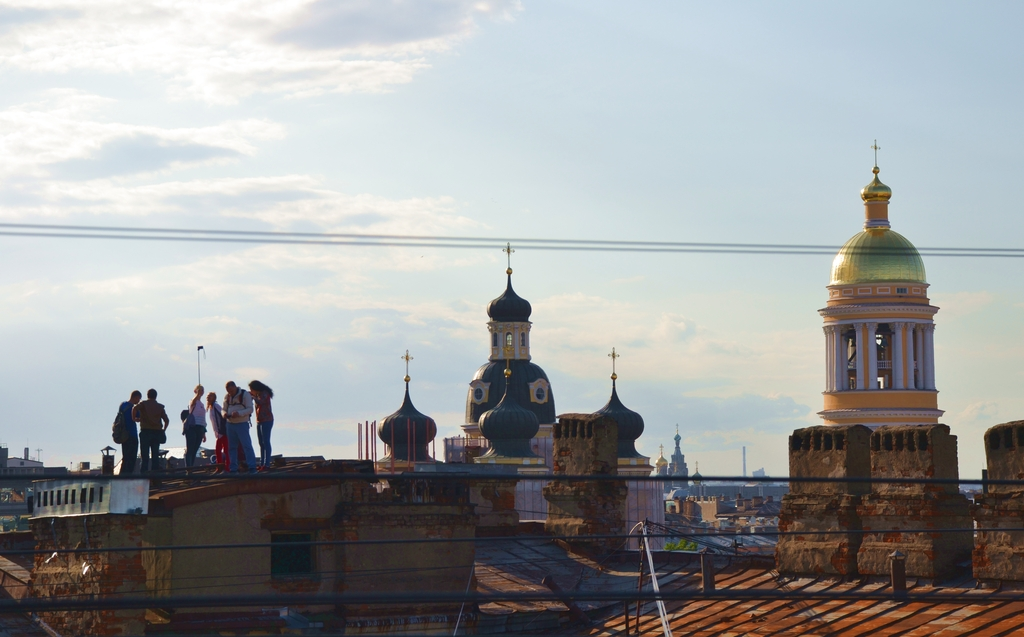 Roofs of Saint Petersburg