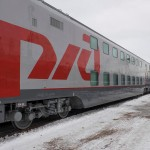 New Double-Decked Train St. Petersburg–Moscow