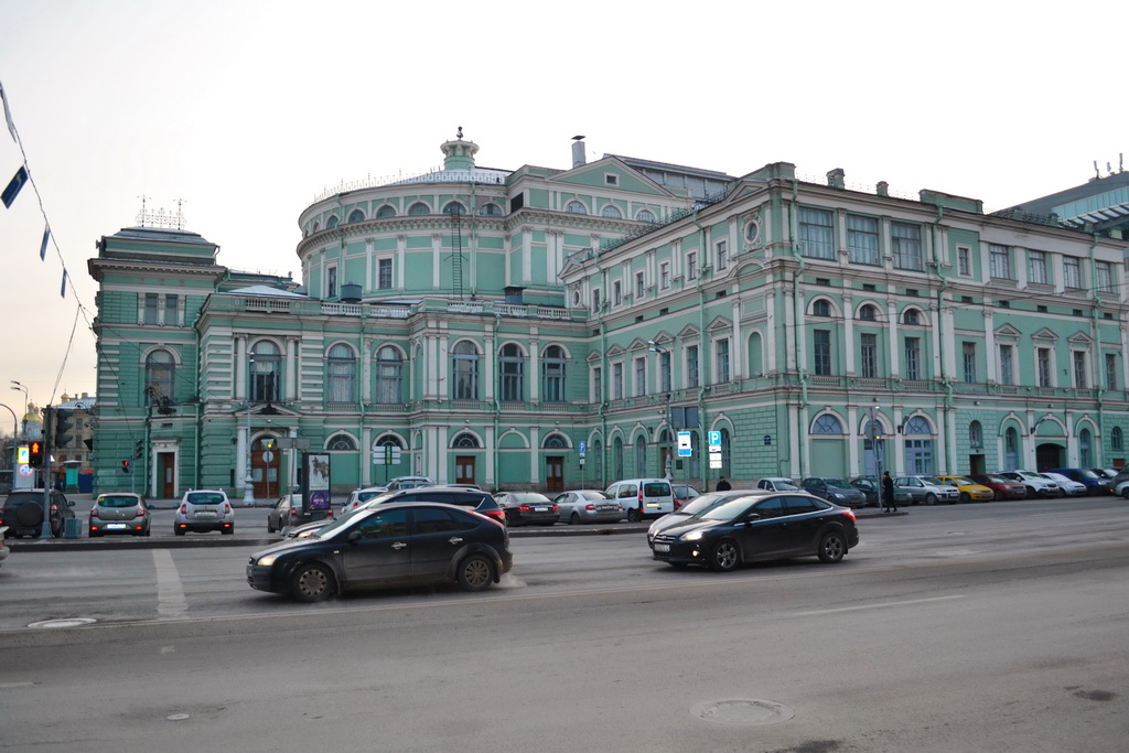 Mariinsky theater`s old building