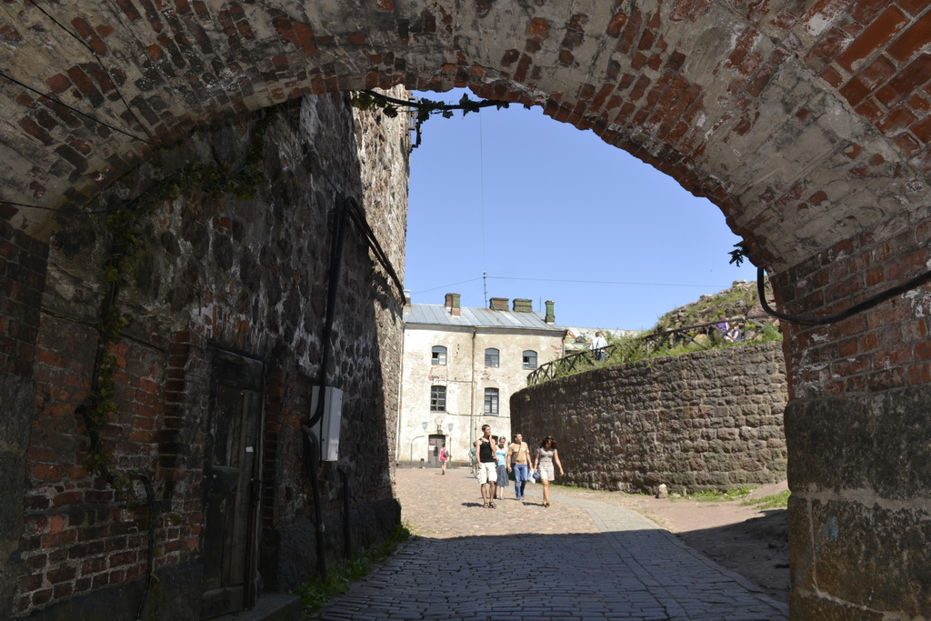 Entrance to Vyborg Castle