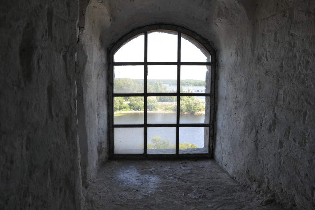 Window of the Vyborg tower