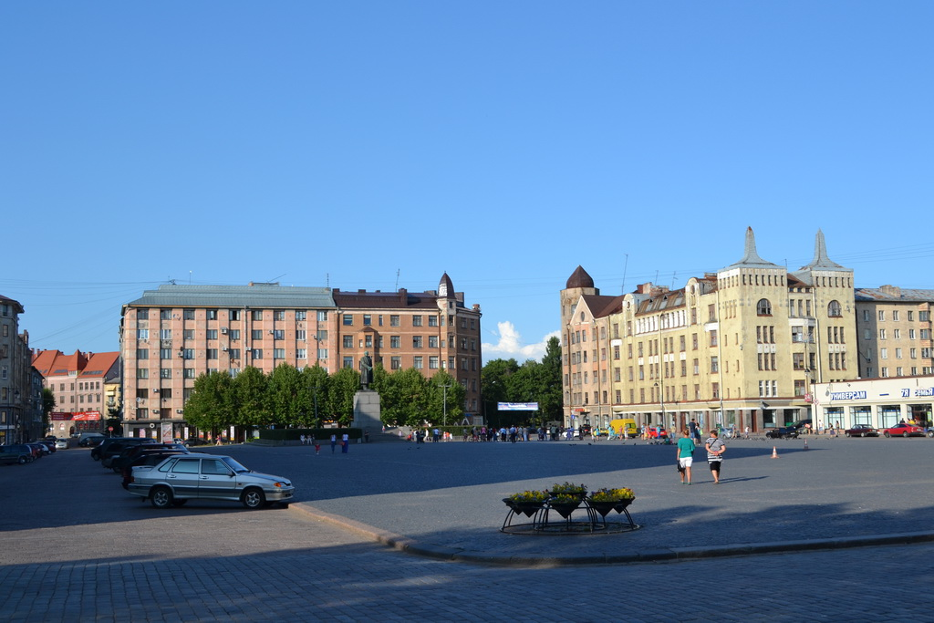 Vyborg Red Square