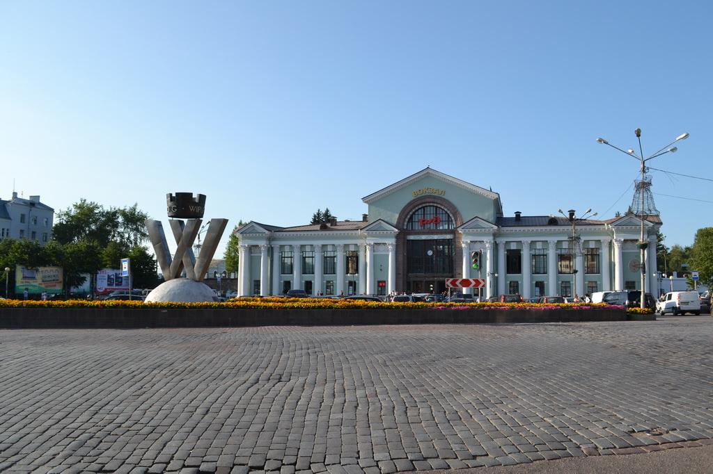 Vyborg railway station