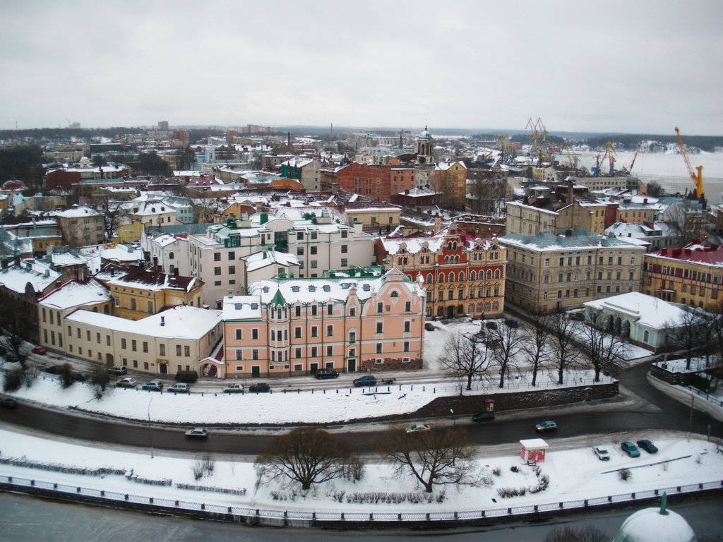 Winter in Vyborg