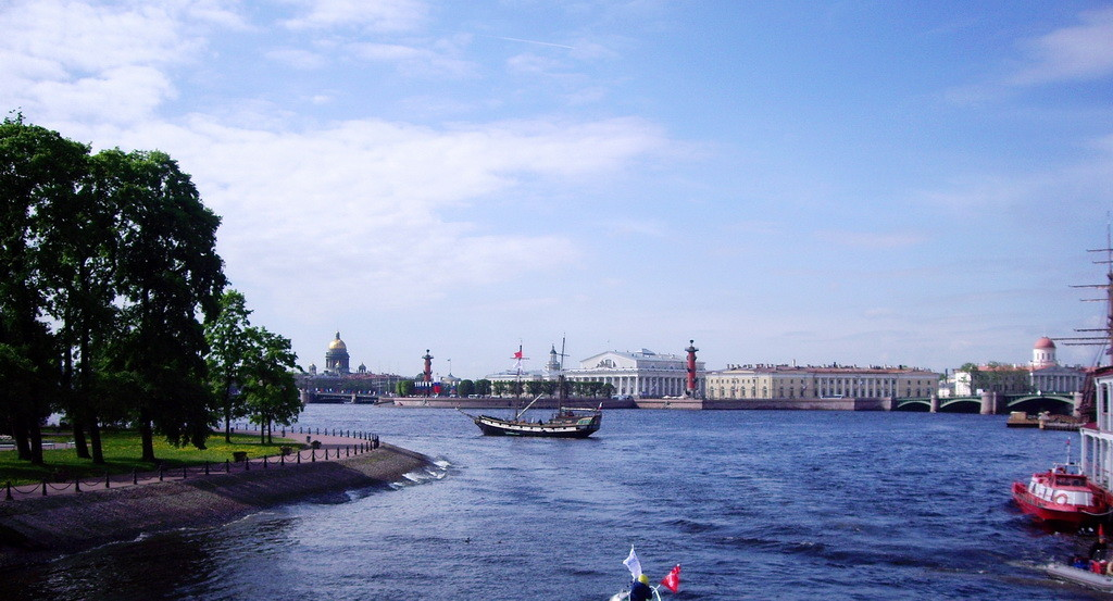 St.Petersburg`s View