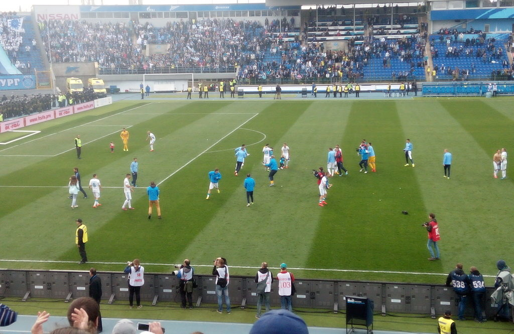 FC Zenit play