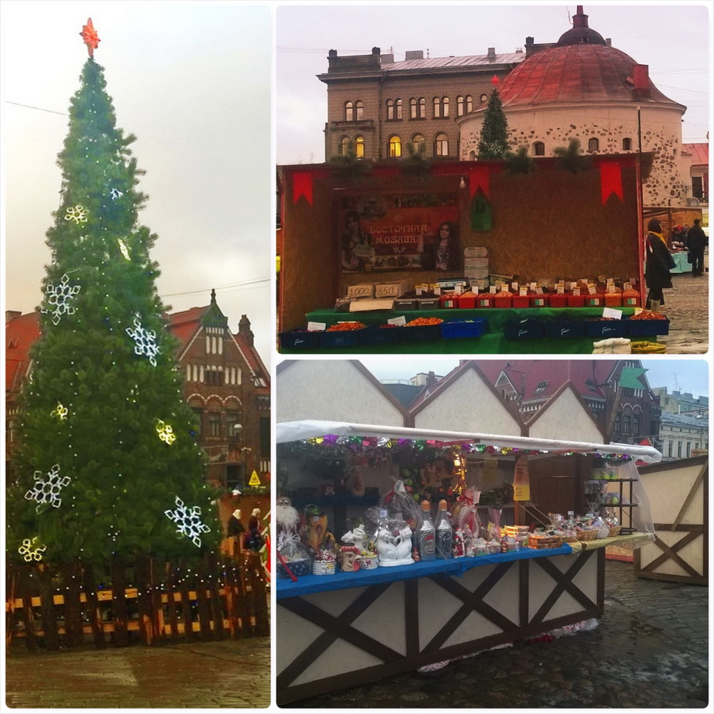 Christmas Market Opened in Vyborg