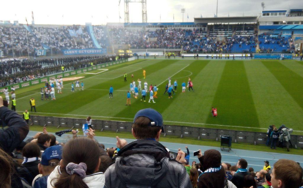 FC Zenit plays