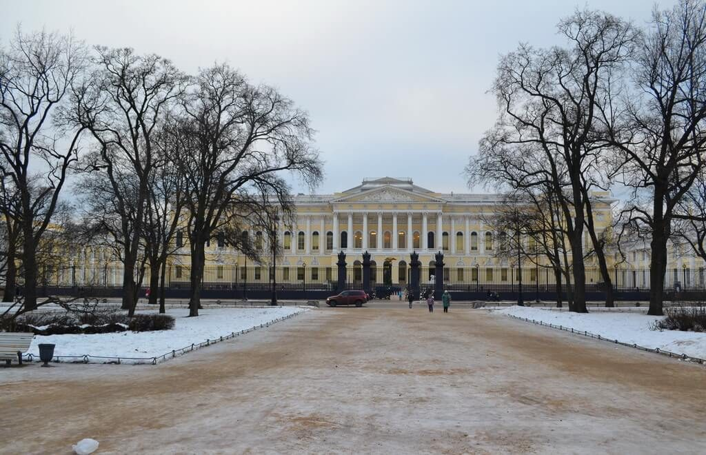 Russian Museum winter
