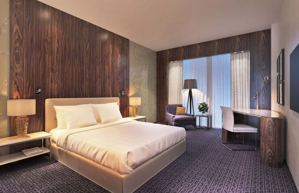 Guestroom Hilton Hotel
