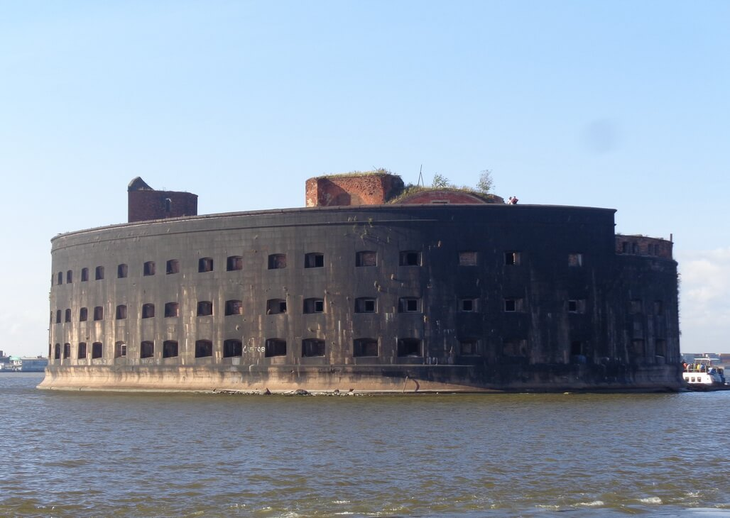 Plague fort near Kronstadt