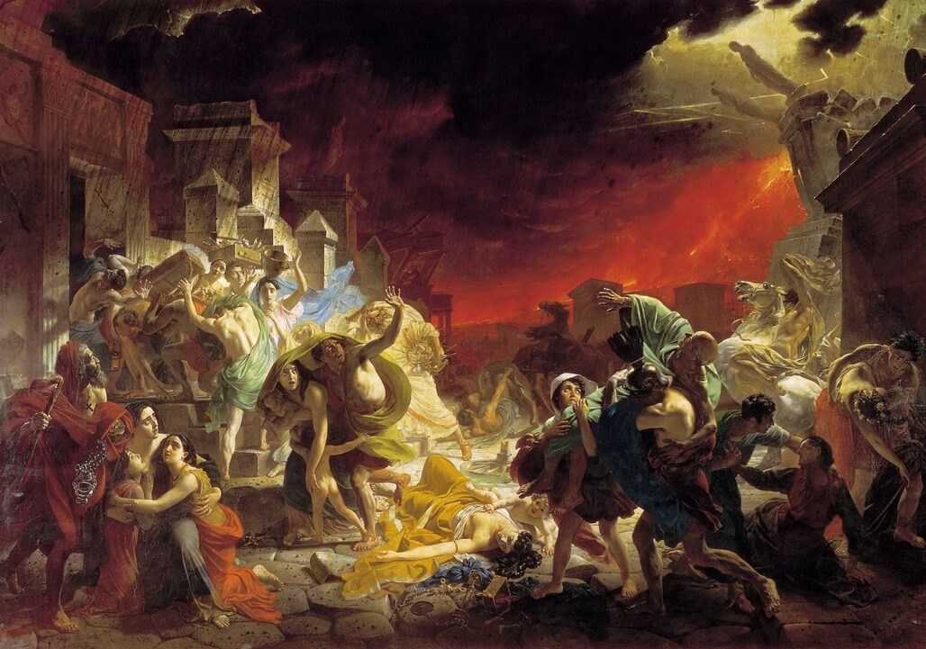 The Last Day Of Pompeii - Karl Bryullov