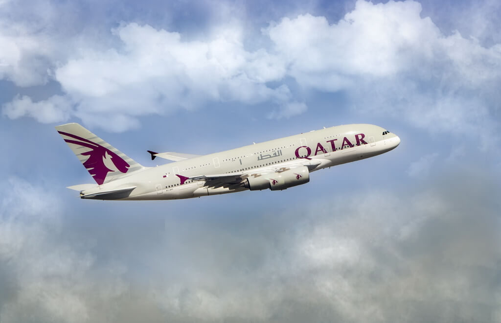 Qatar airplane