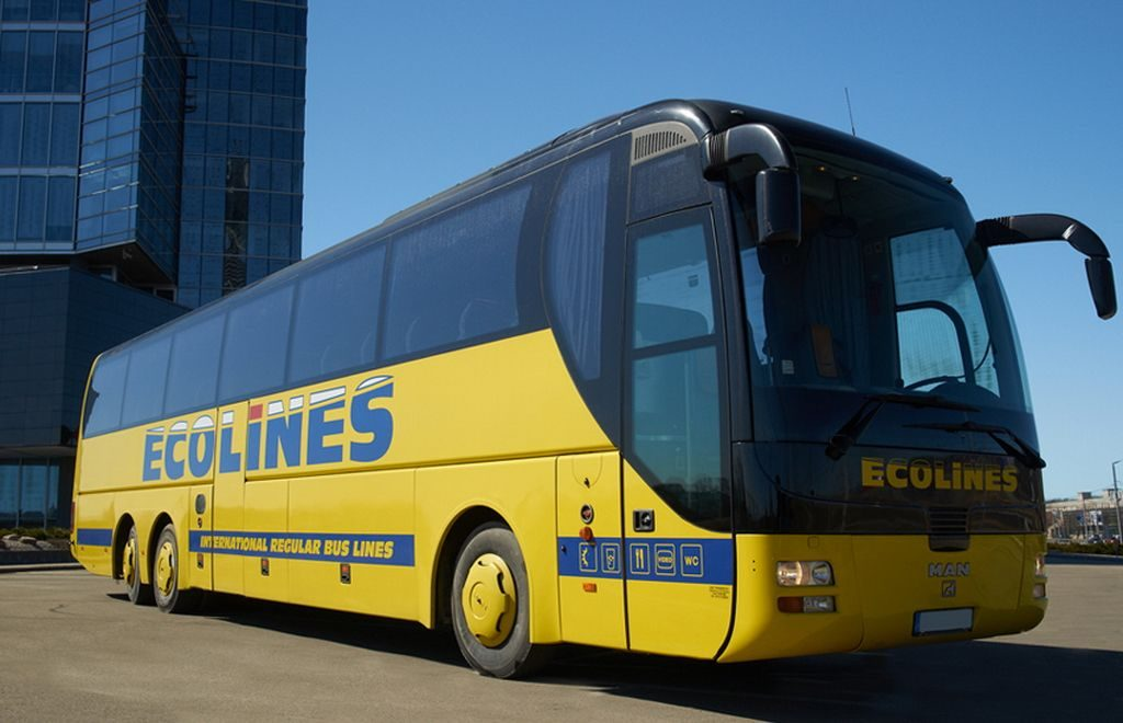 Ecolines launched a bus route from St Petersburg to Helsinki