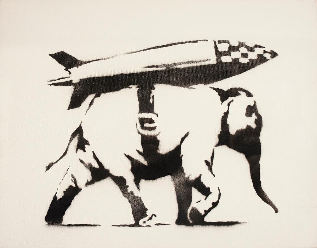 Banksy's Art in SPb