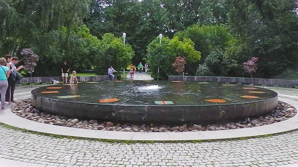 The Hanseatic fountain