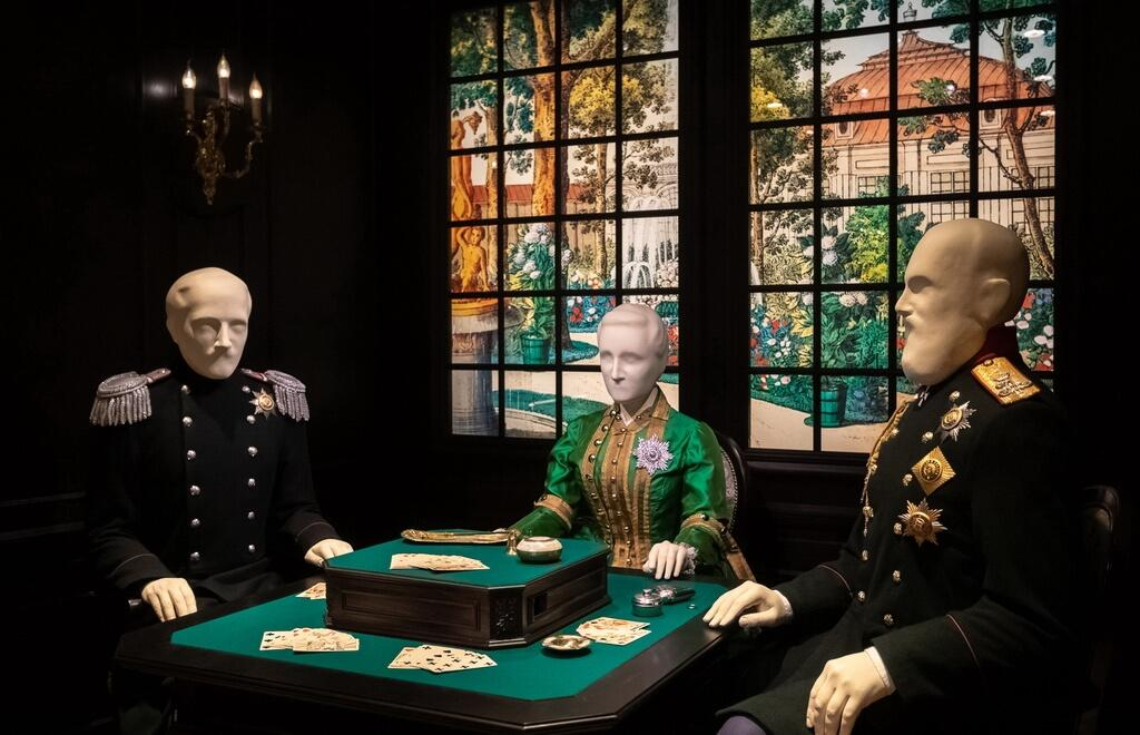 Spectators will meet royal players