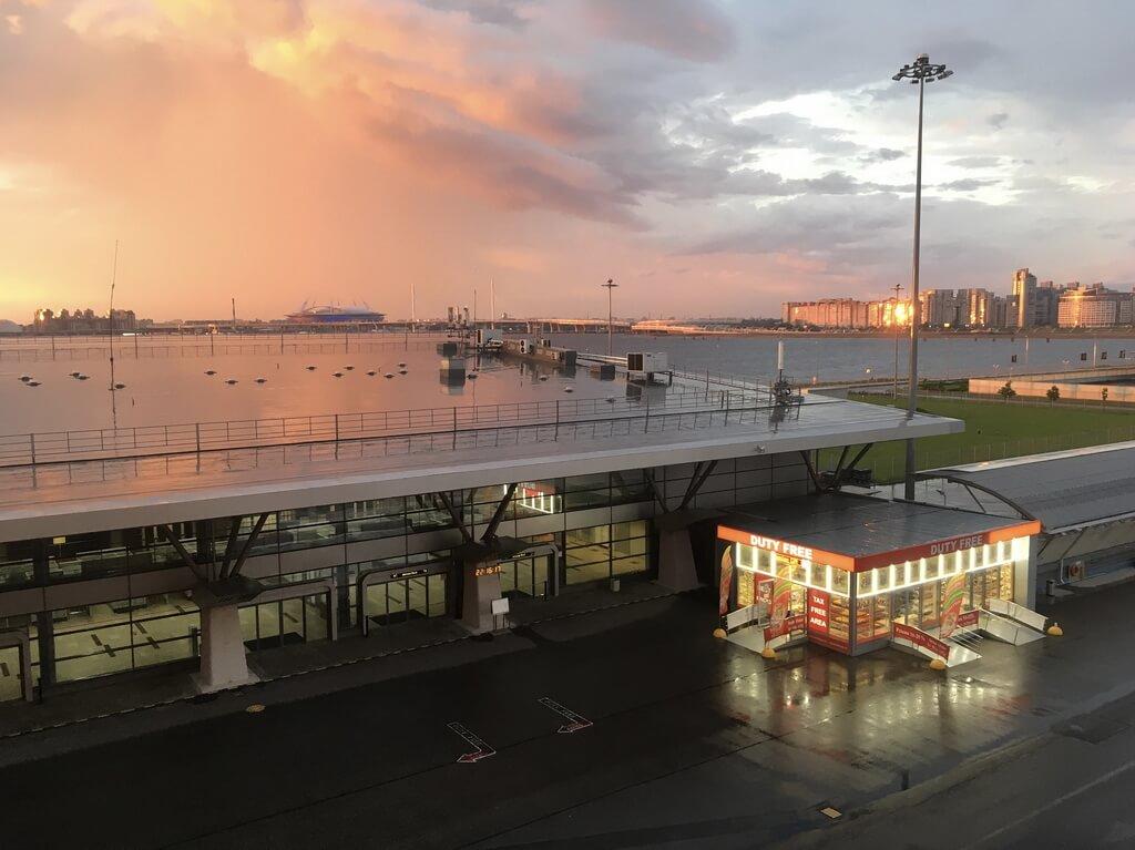 St Petersburg Passenger cruise port