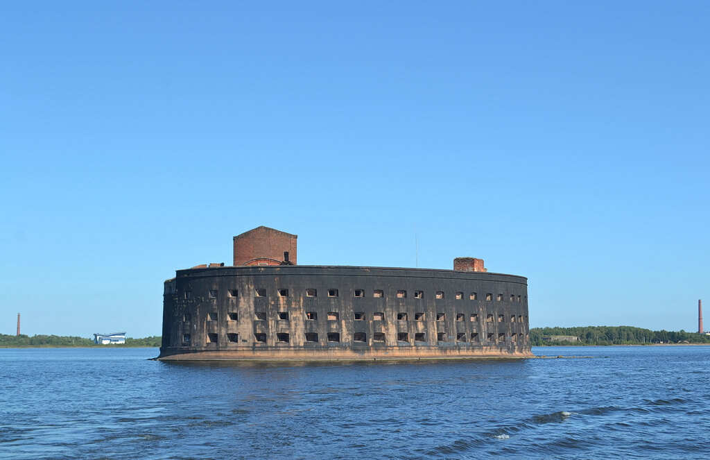 the famous Fort of Alexander I, also known as The Plague Fort