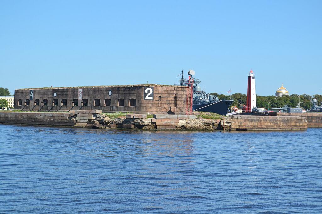 a fort of Kronstadt